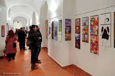 Arthink-book in mostra © Andrea De Meo