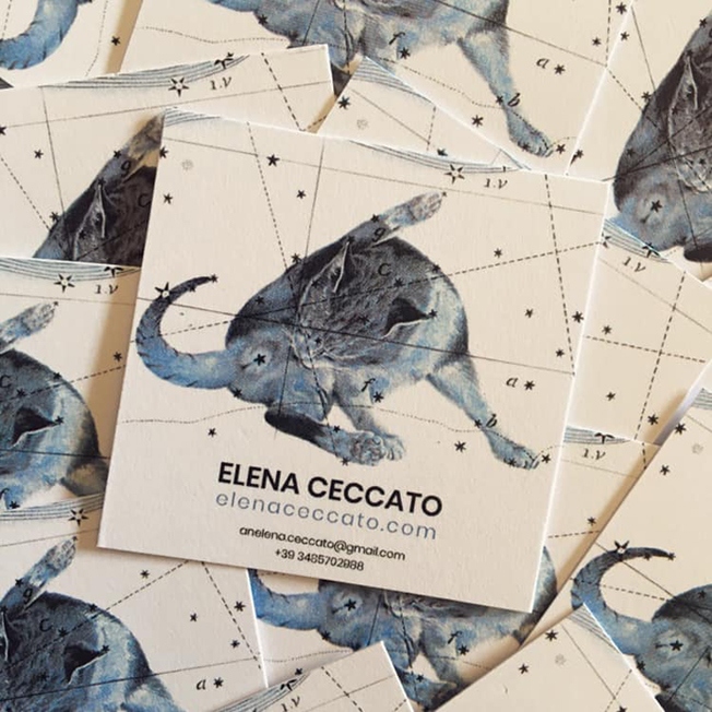 Business cards © Elena Ceccato 2019
