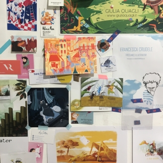 Illustrators Wall (BCBF 2019)